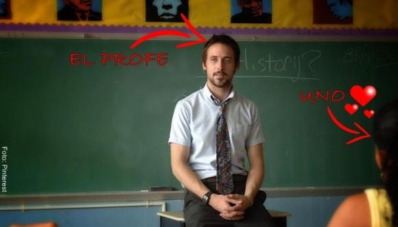 ¿Por qué nos enamoramos de nuestros profesores?