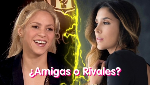 Shakira y Daniela Ospina, ¿rivales como Piqué y James?