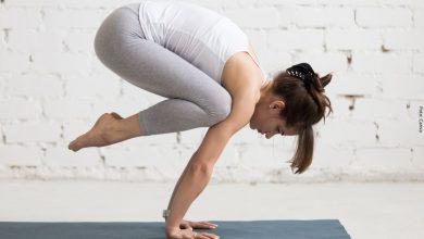 Reto visual de la posición de Yoga (Foto)