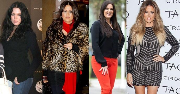 khloe kardashian transformtion 01