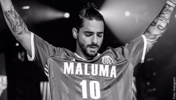 A Maluma lo critican por estas pintas