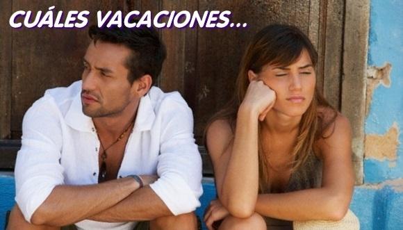 Cosas tristes que dañan las vacaciones