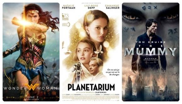 Wonder Woman, Planetarium, La Momia y más cine de vacaciones