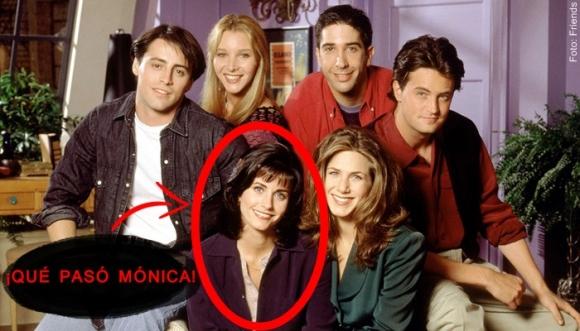 """Mónica, de """"Friends"""", se arrepiente de su rostro (FOTOS)"""