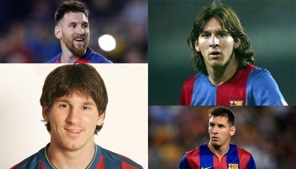 Lionel Messi de patito feo a papacito exitoso