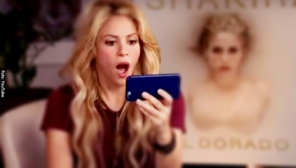 Este es el video que dejó boquiabierta a Shakira