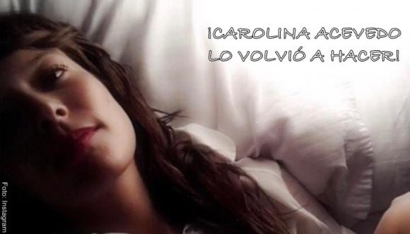 Carolina Acevedo muestra su belleza sin ropa
