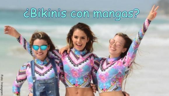 Vaneza Peláez en bikini con mangas... ¿Cómo?