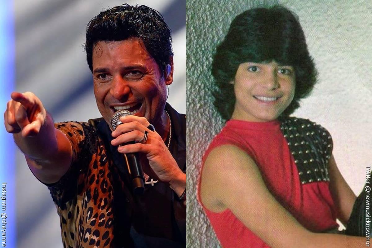 Fotos de Chayanne, antes y después