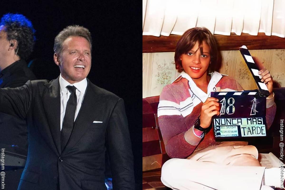 Fotos de Luis Miguel, antes y después