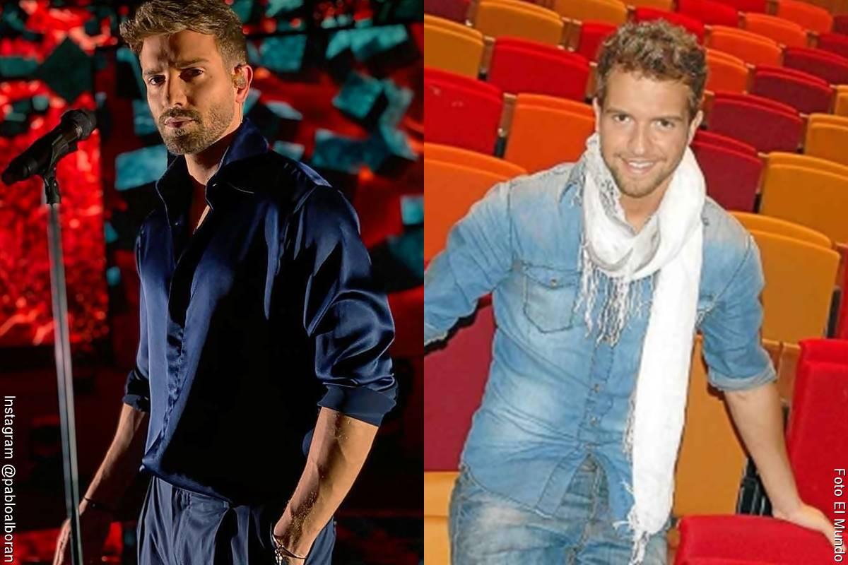 Fotos de Pablo Alborán, antes y después