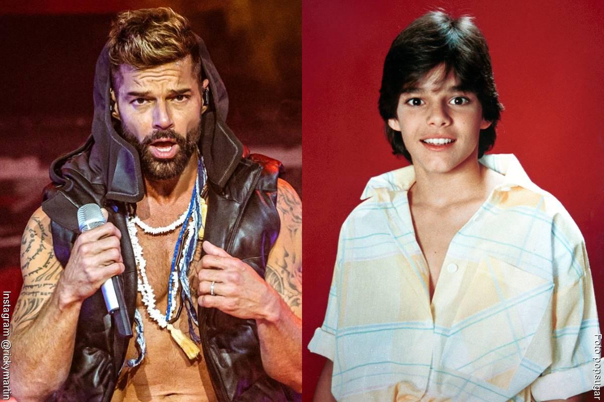 Fotos de Ricky Martin, antes y después