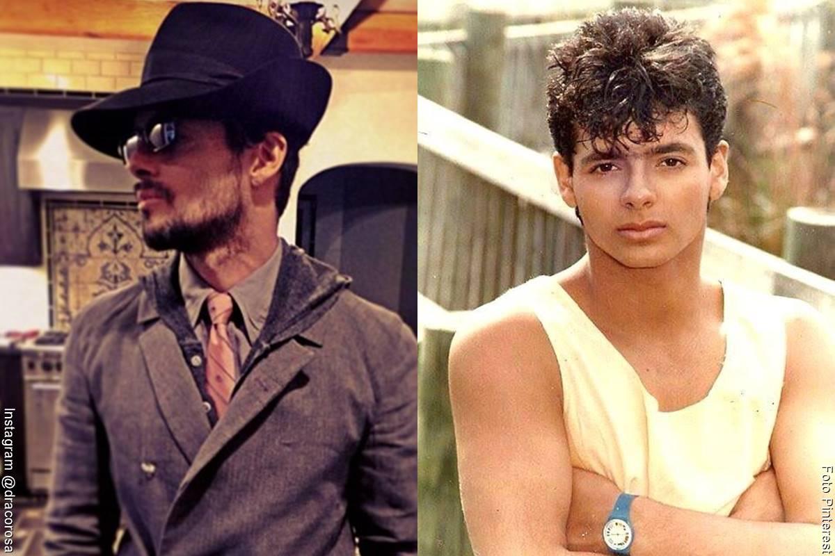 Fotos de Draco Rosa, antes y después