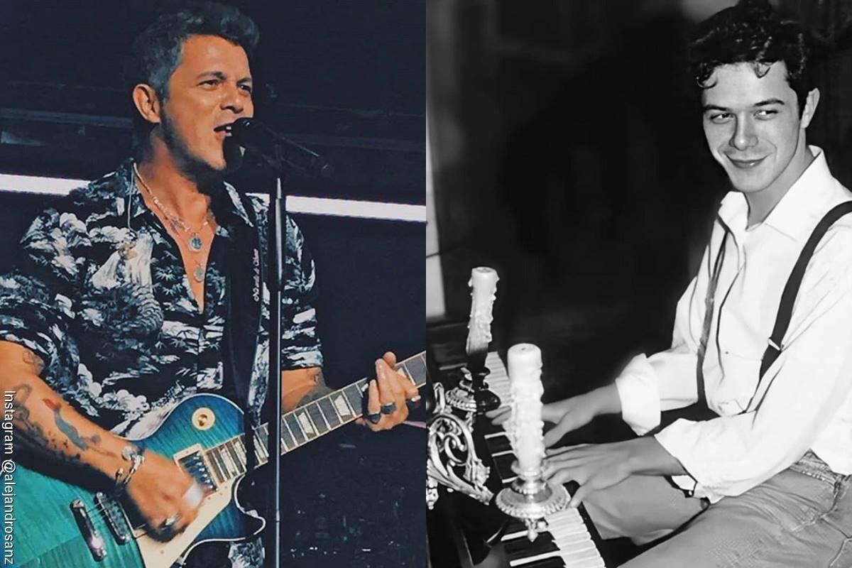 Fotos de Alejandro Sanz, antes y después