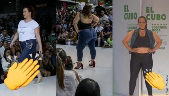 Tallas grandes se roban el show en Colombiamoda