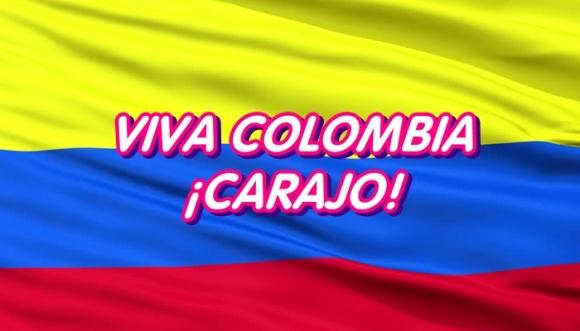¡Carajo, somos colombianos!
