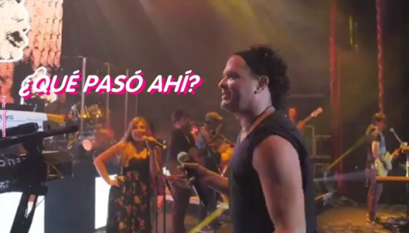 Fan de Carlos Vives lo besó en pleno concierto (Video)