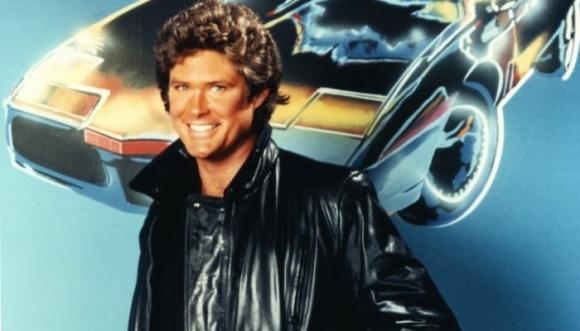 David Hasselhoff ¿Baywatch o El auto fantástico?
