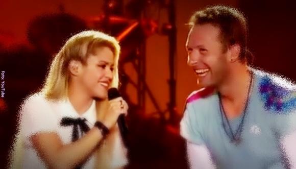 Shakira y Chris Martin unidos por la ONU