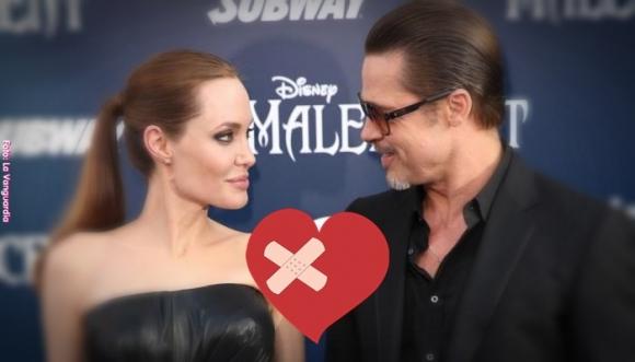 Angelina se echó para atrás con el divorcio