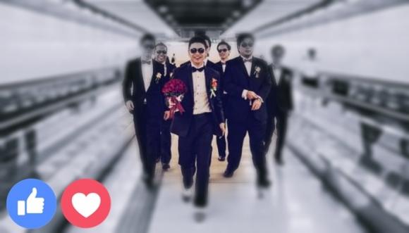 Curiosa pedida de matrimonio dentro del Metro