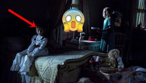 ¡Annabelle nos pegó tremendo susto!