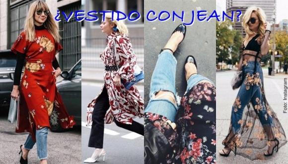 Combinar jeans con falda causa furor en redes