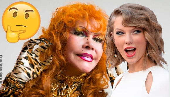 ¿Taylor Swift robó el look de la Tigresa del Oriente?
