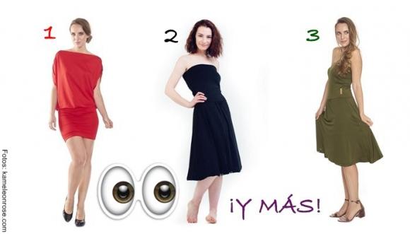 5 formas de usar el mismo vestido... ¡OMG!