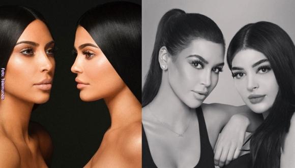 Ellas son las gemelas de Kim Kardashian y Kylie Jenner
