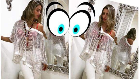 Cristina Hurtado muestra cómo usar pantalón blanco