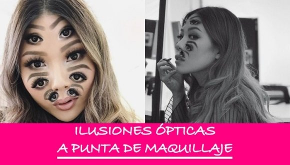 Impresionantes ilusiones ópticas con maquillaje