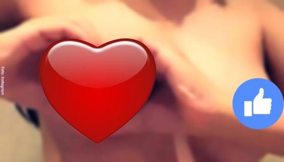 ¿Harías el reto del seno en forma de corazón? Fotos