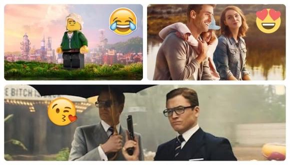 """¡Volvieron """"Kingsman"""" y """"Lego""""!"""