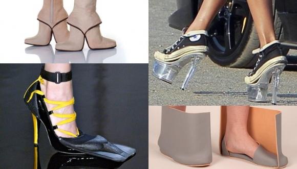 Los 19 zapatos más feos de la historia de la moda