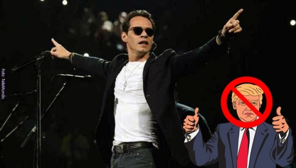 Marc Anthony le da un duro mensaje a Donald Trump