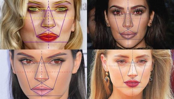 ¿Ellas tienen el rostro PERFECTO?