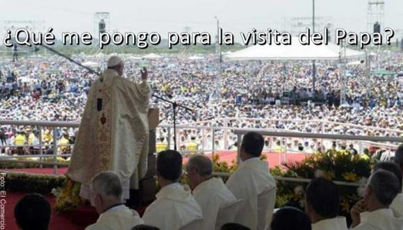¿Cómo debo vestirme para la visita del Papa?