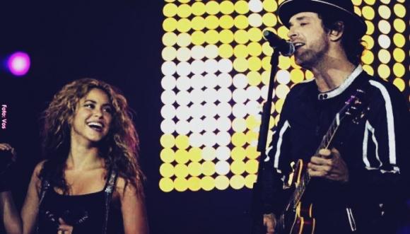 Grandes momentos de Shakira al lado de Cerati