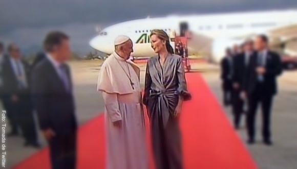 Pintas de las famosas para conocer al Papa