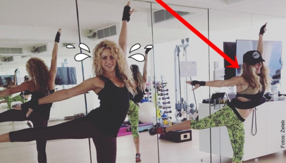 Habló la mujer que hace sudar a Shakira