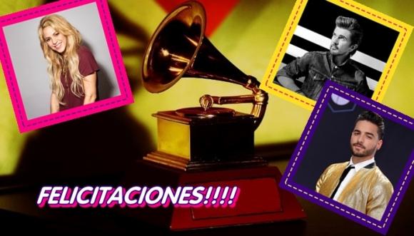Colombia y sus nominados a los Grammy Latinos