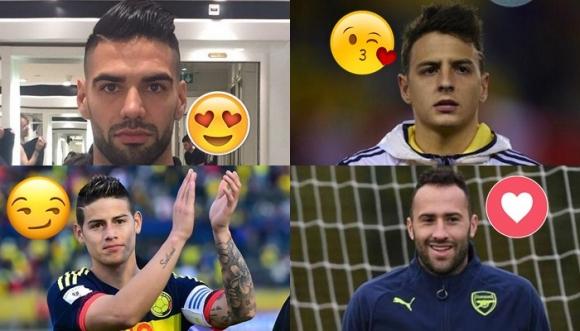 ¿Cuál jugador es el más papacito de la Selección Colombia?