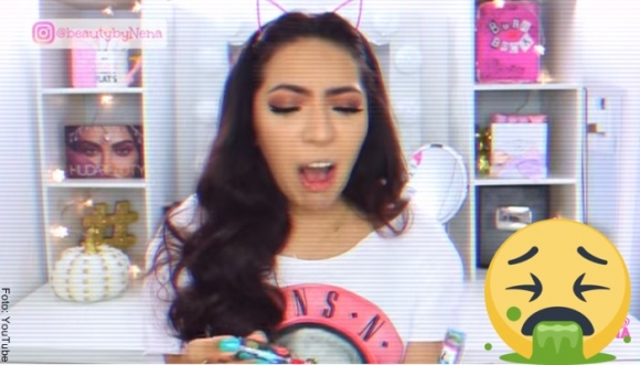 Probaron el maquillaje de Yuya... ¡Y mira lo que pasó!