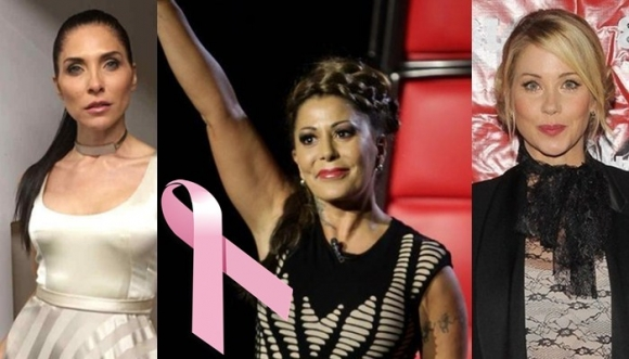Famosas que superaron el cáncer de mama