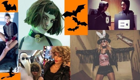 Disfraces más cool de famosas en Halloween