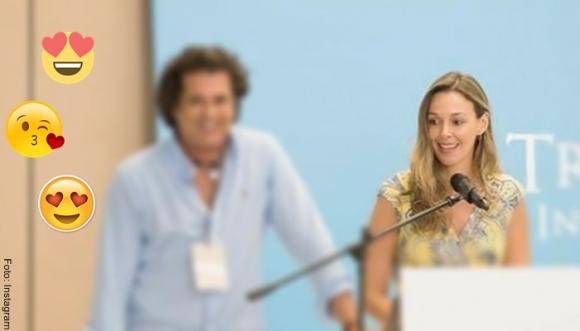 Claudia Elena le robó el show a Carlos Vives