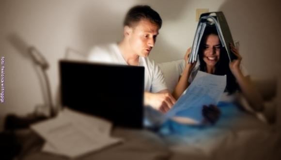 Tu pareja es workaholic, ¡cuidado con esa relación!