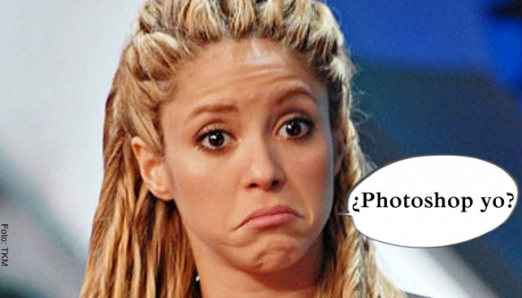 ¿A Shakira se le fue la mano en Photoshop o no?