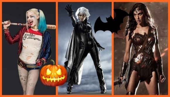 Superheroínas para disfrazarte en Halloween